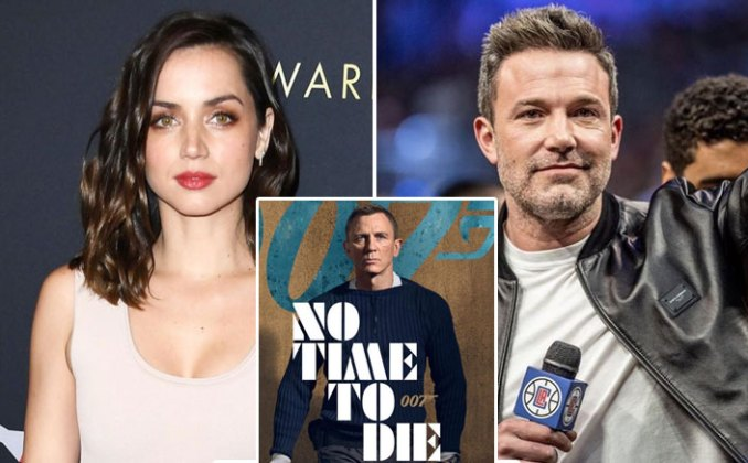 No Time To Die Makers Want Ana de Armas To NOT Bring Beau Ben Affleck To The Premiere?
