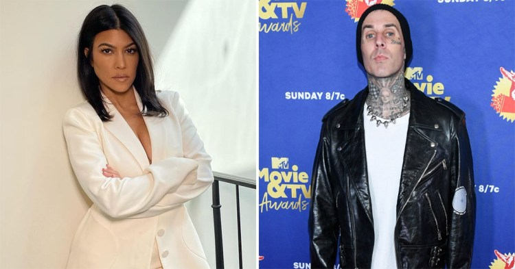 Kourtney Kardashian & Travis Barker Are The New Couple In ...