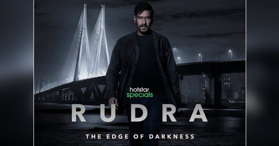 Rudra Side Of The Darkness First Looks Ajay Devgn Out