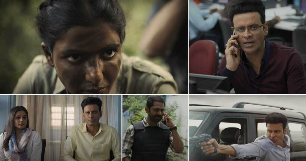 The Family Man 2 Trailer Out! Manoj Bajpayee's Transition From 'Minimum Guy' To Spy Is Entertaining But It's Samantha Akkineni Who Steals The Limelight