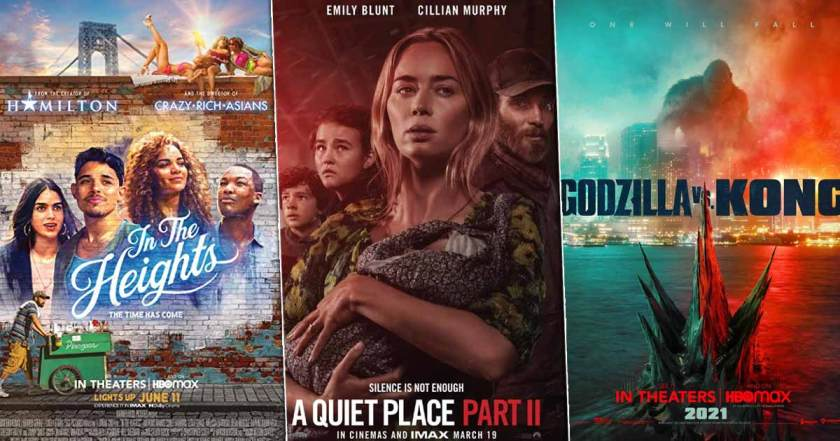 In the Heights starts off slow, A Quiet Place Part II ready to beat Godzilla vs Kong – Box Office Update |  Filmywap – Filmywap 2021 : Filmywap Bollywood Movies, Filmywap Latest News