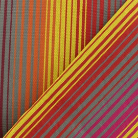 tissu toile plein air dralon bandol 320cm jaune x 10cm