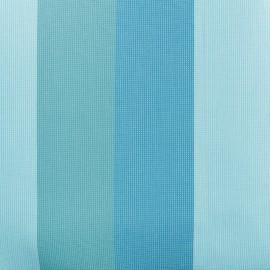 tissu toile plein air dralon boston 320cm bleu x 10cm