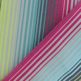 tissu toile plein air dralon bandol 320cm turquoise x