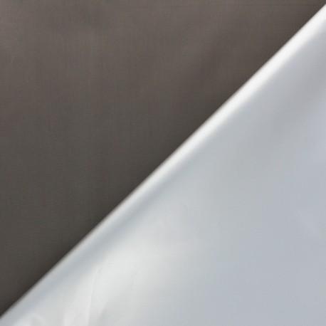 tissu occultant thermique fin scandia taupe x 10cm