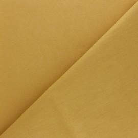 tissu coton uni reverie grande largeur 280 cm curcuma