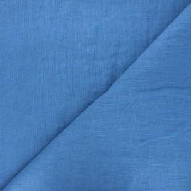 tissu lin lave thevenon bleu stone x 10cm
