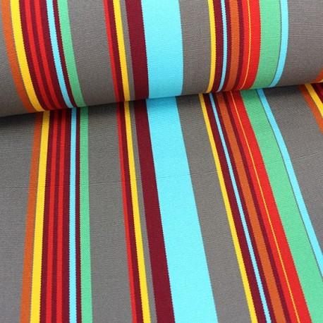 tissu toile transat playa portofino turquoise x 10cm