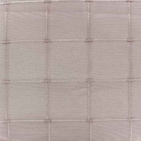 coupon tissu 35 cm x 280 cm tissu jacquard grande largeur isis 280 cm rose poudre