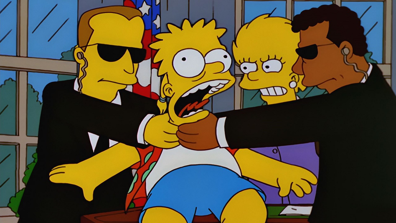 Cell Wallpaper Hd Illustration Fall The Simpsons Already Predicted That Donald Trump Will