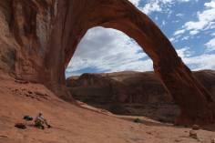 Jens vor dem Corona Arch