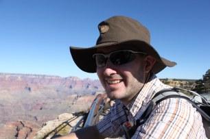 Jens am Grand Canyon