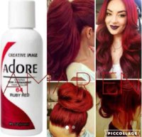 Ruby Red Adore Hair Color | Hairstyle Inspirations 2018