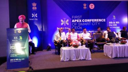 Image result for Bhopal host the first apex conference for the CEOs of Smart Cities