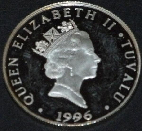 Queen Elizabeth Ii Coin 1996 - Year of Clean Water