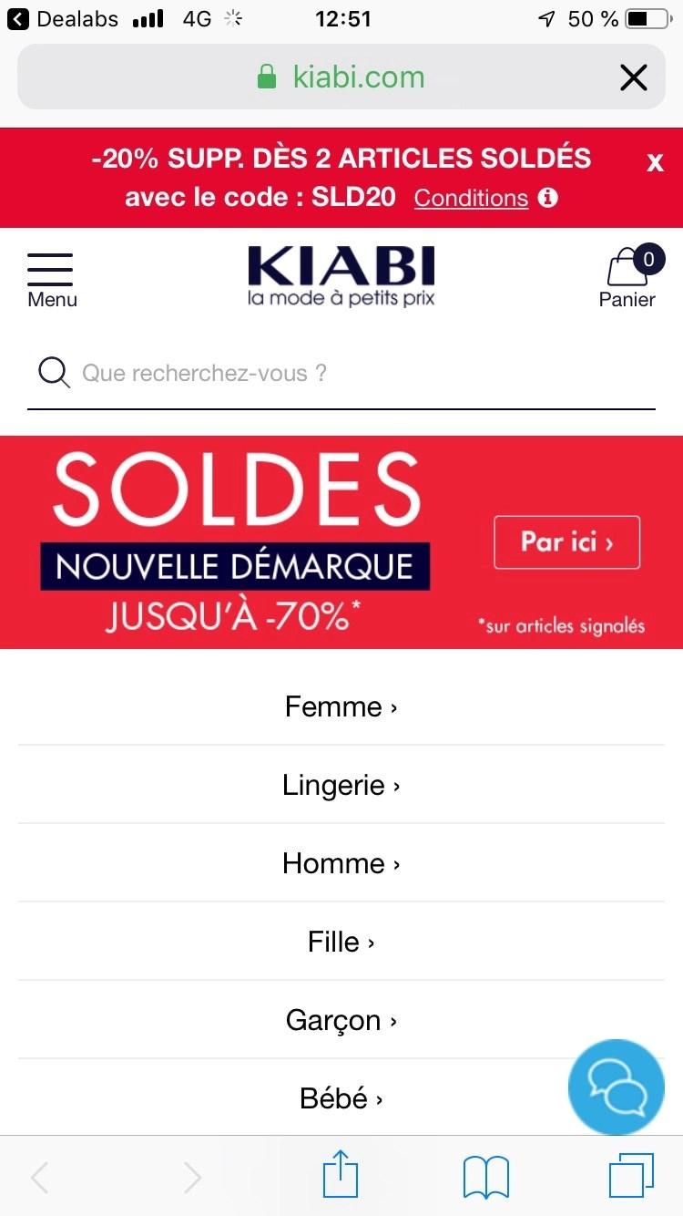 Code Promo Kiabi -10 Euros : promo, kiabi, euros, Réduction, Supplémentaires, Articles, Soldés, Dealabs.com