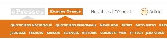 clients orange sosh acces gratuit au