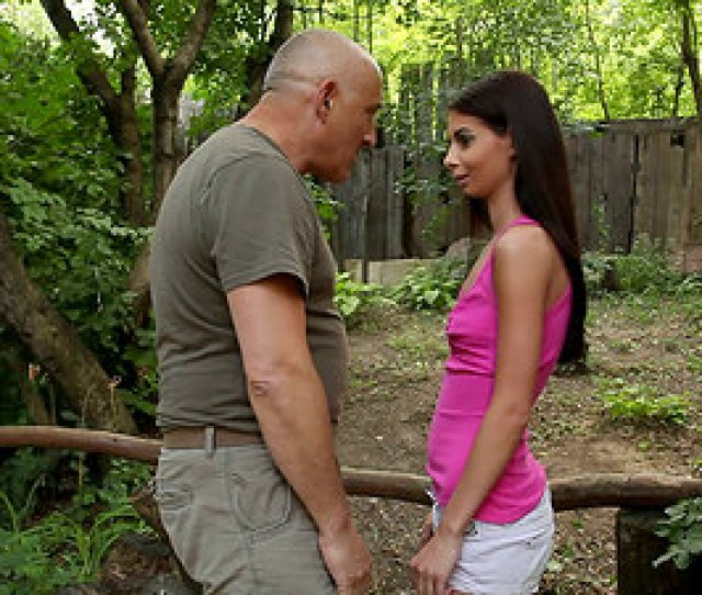 A Hot Dark Haired Teenage Frigs Her Fanny On Her Uncles Farm