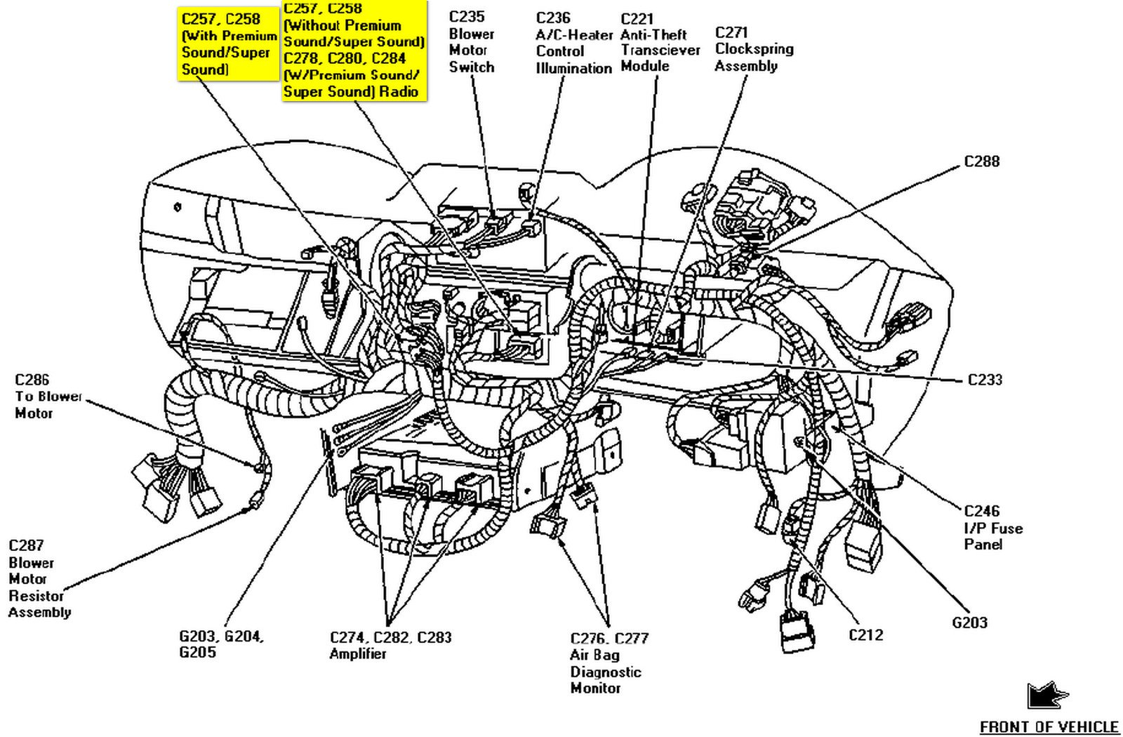 1997 Ford Mustang Radio Wiring Diagram Collection