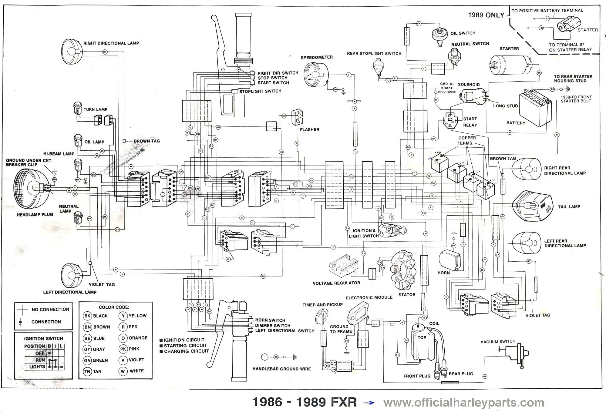 [SL_6449] 2000 Sportster Wiring Diagram Schematic Wiring