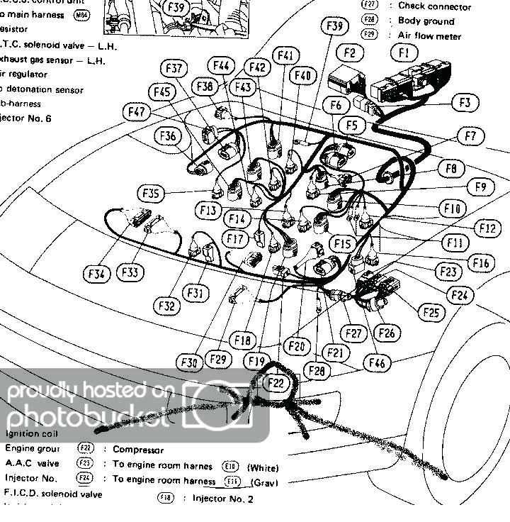 1993 Nissan 300Zx Radio Wiring Diagram / 300zx Radio