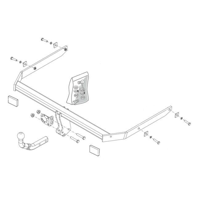 [CR_9722] Thule Towbar Wiring Diagram Wiring Diagram