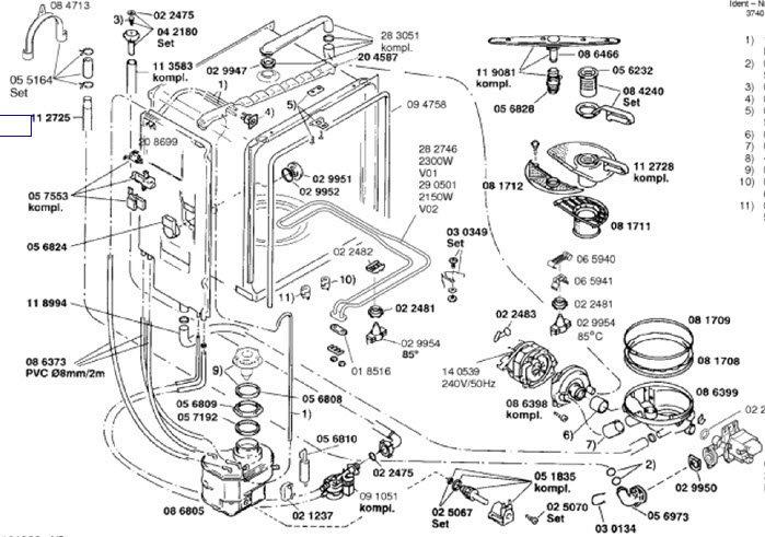 [YB_6240] Bosch Dishwasher Wiring Diagram Free Diagram
