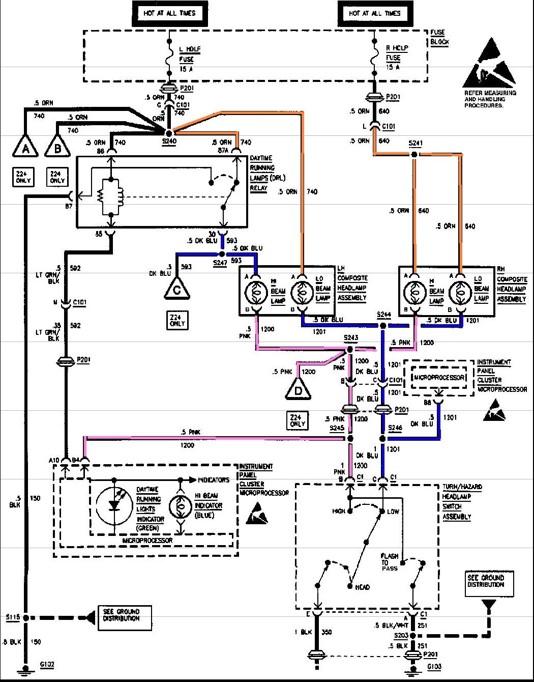 2003 Chevy Cavalier Headlight Wiring Diagram Hampton Ceiling Fan Wiring Diagram For Wiring Diagram Schematics