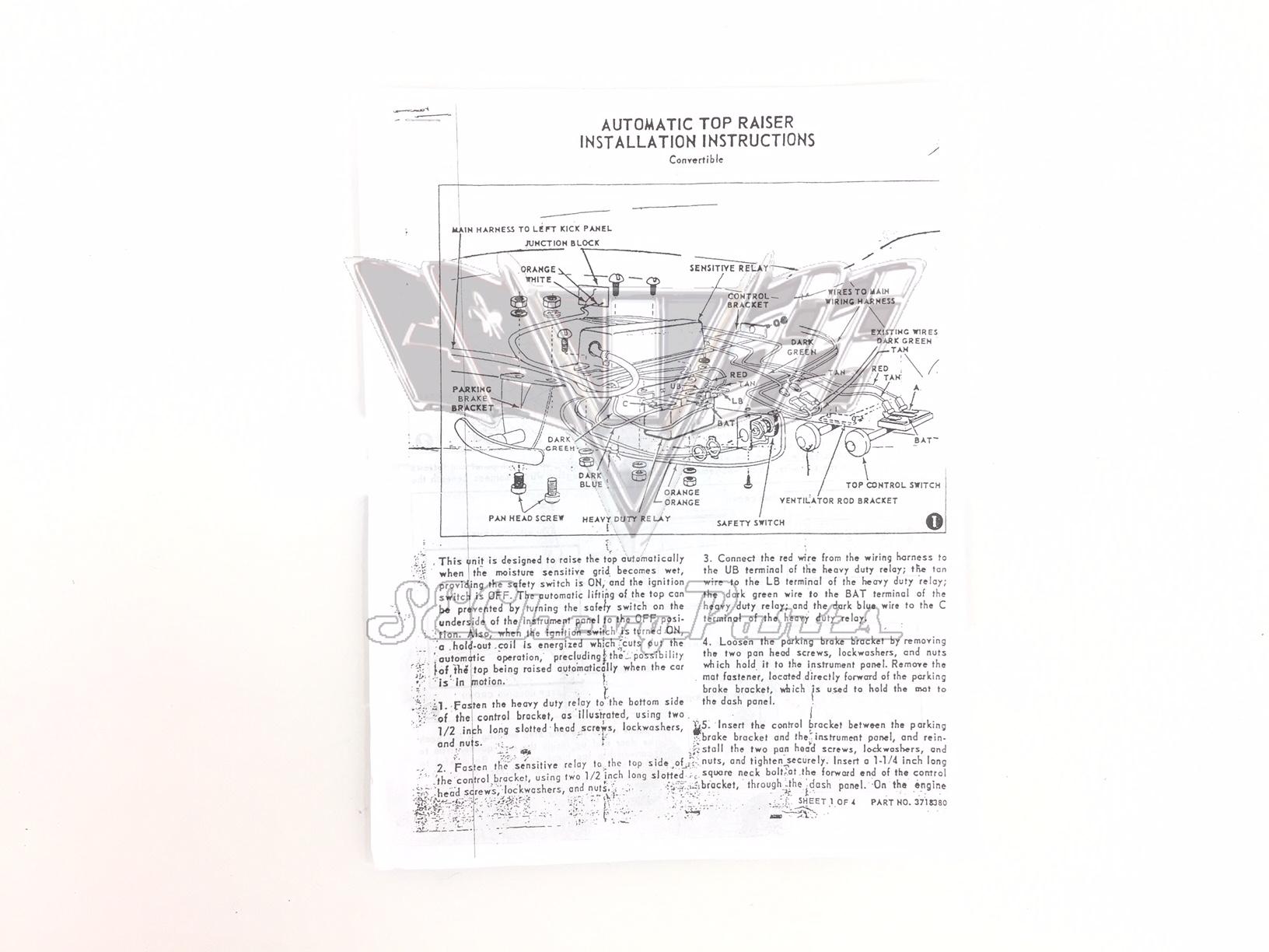 [GV_3586] 1955 Chevy Turn Signal Diagram Wiring Diagram