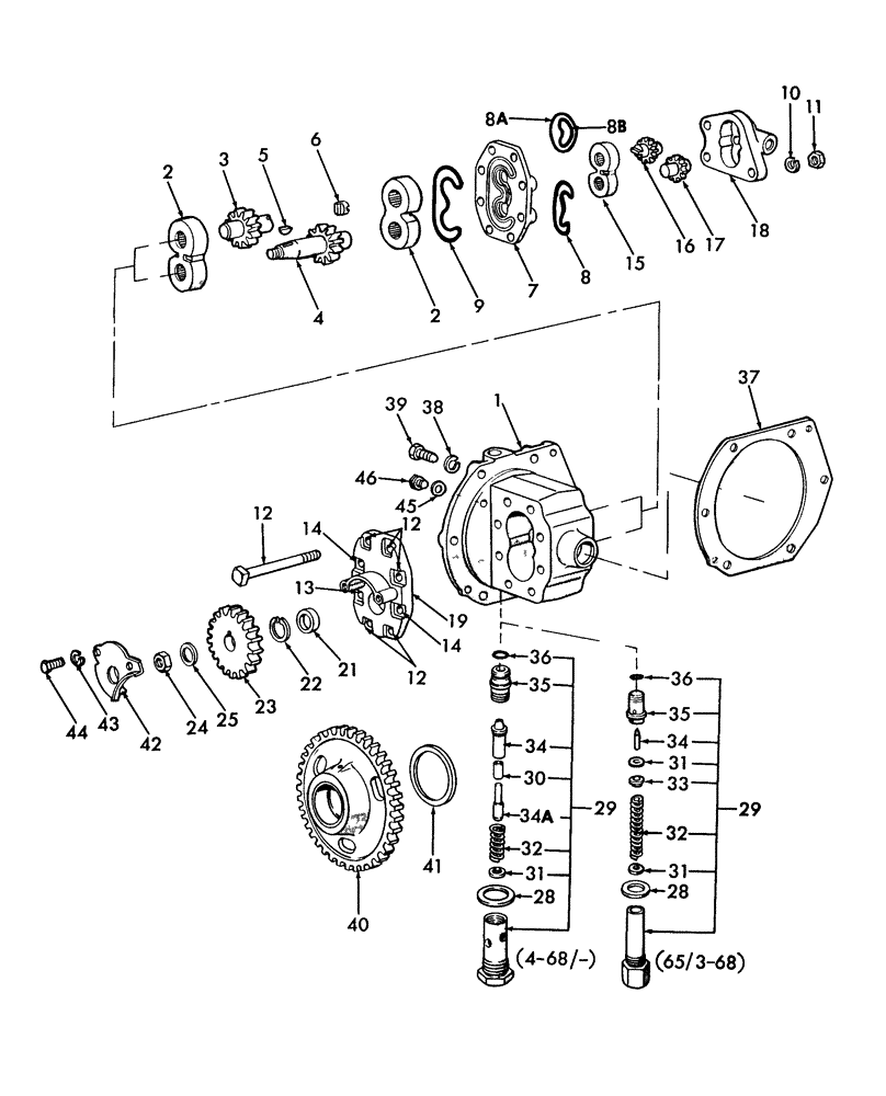 [WH_6625] Ford 2000 Tractor Hydraulic Diagram Free Diagram