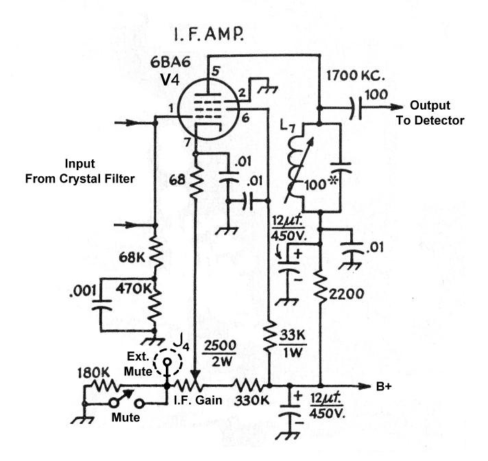 [NH_5853] Gain Control Preamplifier Circuit Diagram