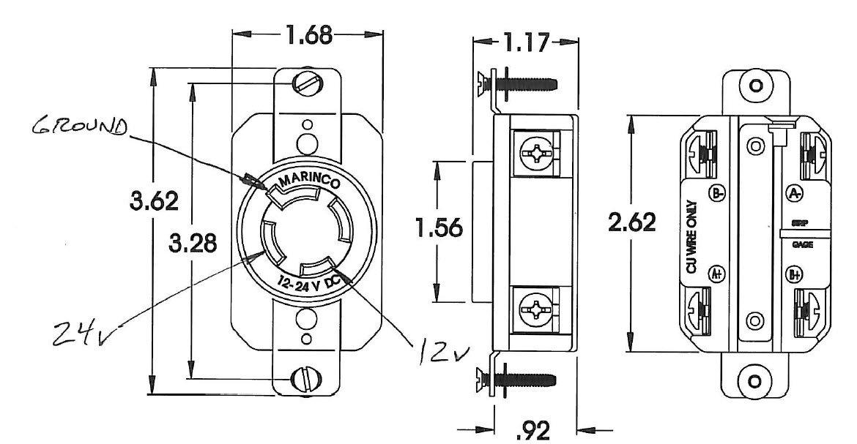 12/24 Volt Trolling Motor Wiring Diagram