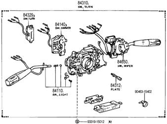 [WA_7127] Engine Diagram Additionally Toyota Previa Wiring
