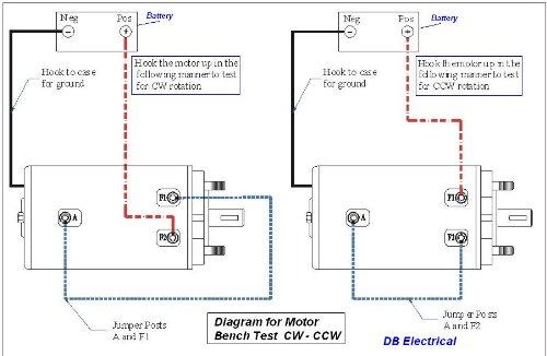ramsey winch motor wiring diagram  led 50w 110v wiring