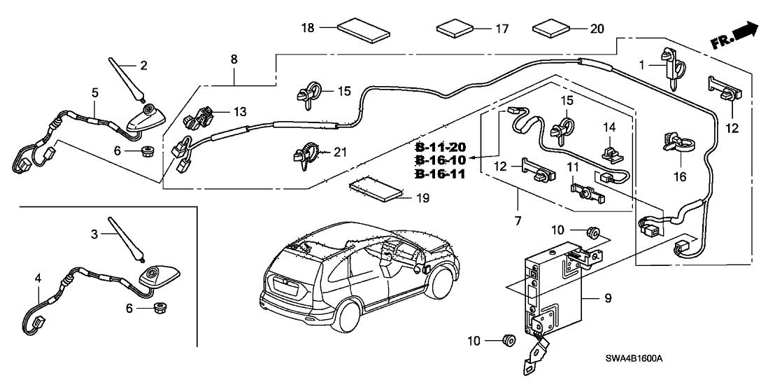 [TR_7172] Honda Cr V Exhaust System Diagram Wiring Diagram