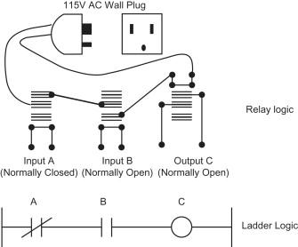 [AG_9920] Relay Logic Circuit Diagram Schematic Wiring