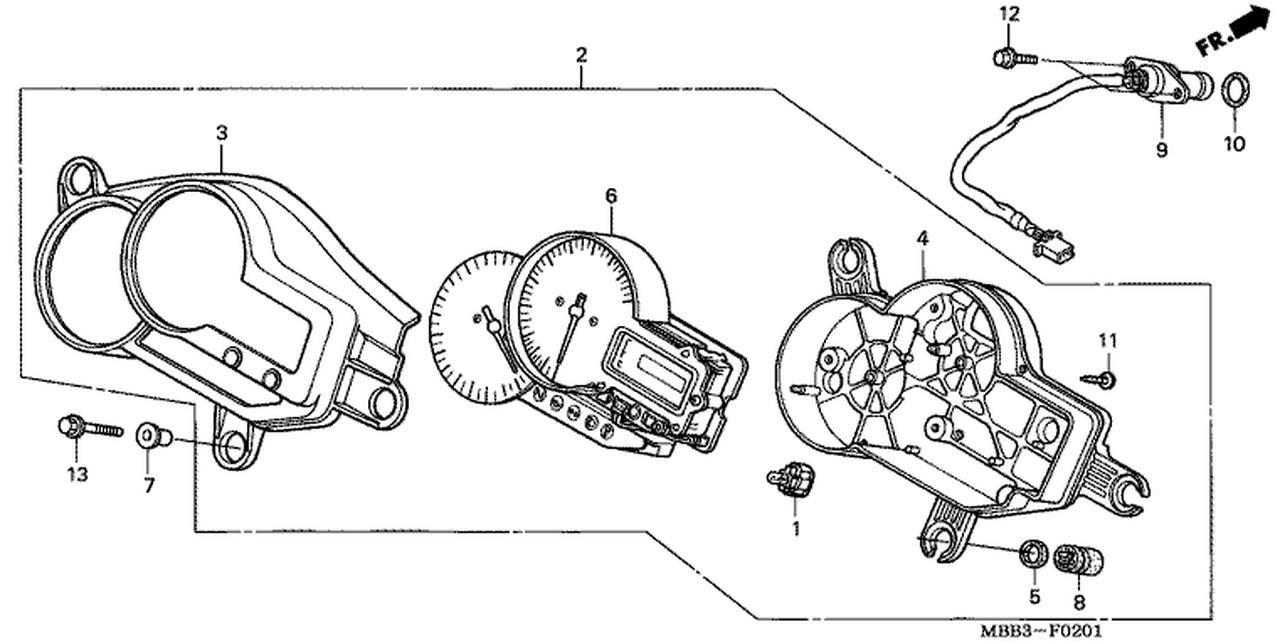 [AZ_2822] Honda Rc51 Wiring Diagram Schematic Wiring