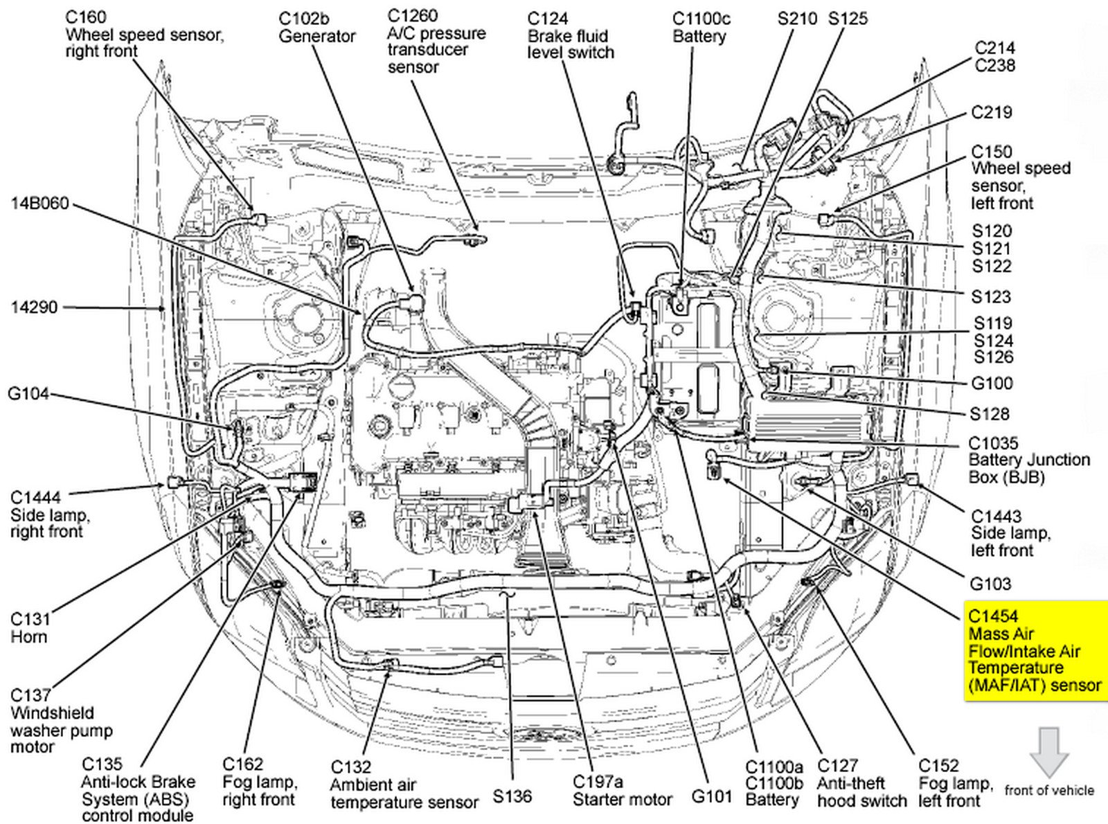 [NW_3809] 2010 Ford Edge Engine Diagram Wiring Diagram