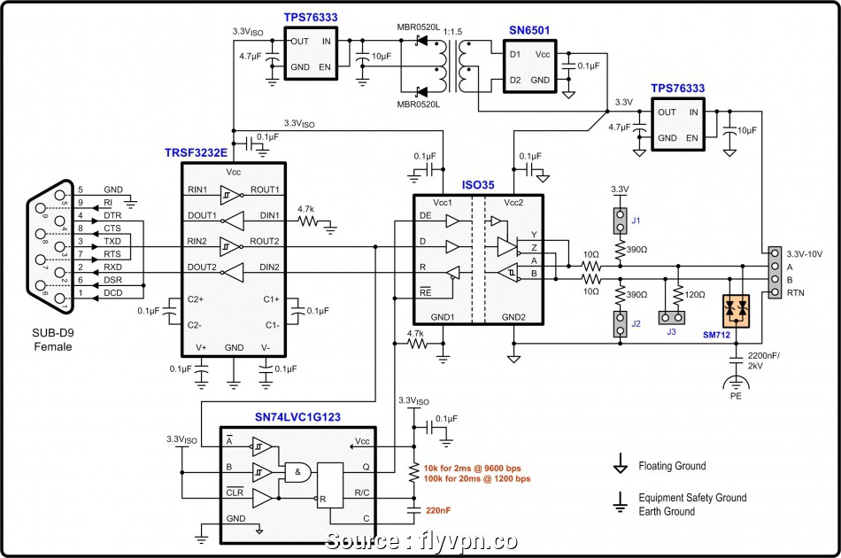 [GF_9670] Rs485 Db9 4 Wiring Diagram Download Diagram