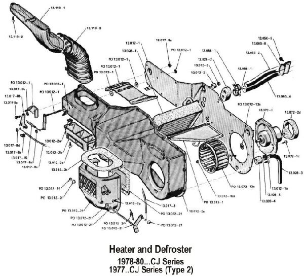 [EB_7420] Cj5 Heater Diagram Free Diagram