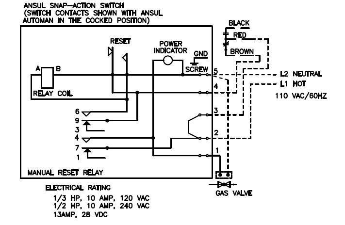 [AK_3176] Gas Valve Relay Wiring Diagram Schematic Wiring