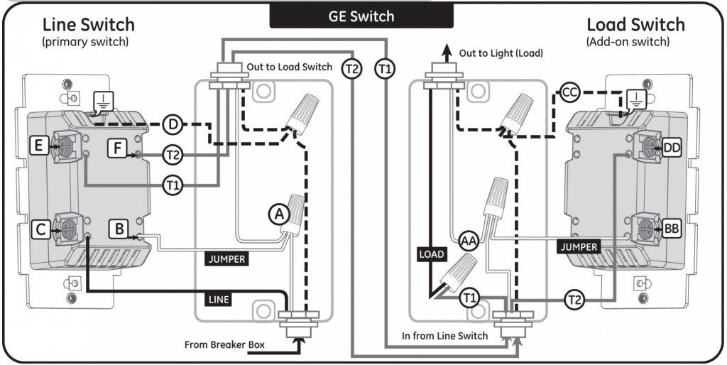 Three Way Dimmer Switch Wiring Diagram : 3 Way Switch