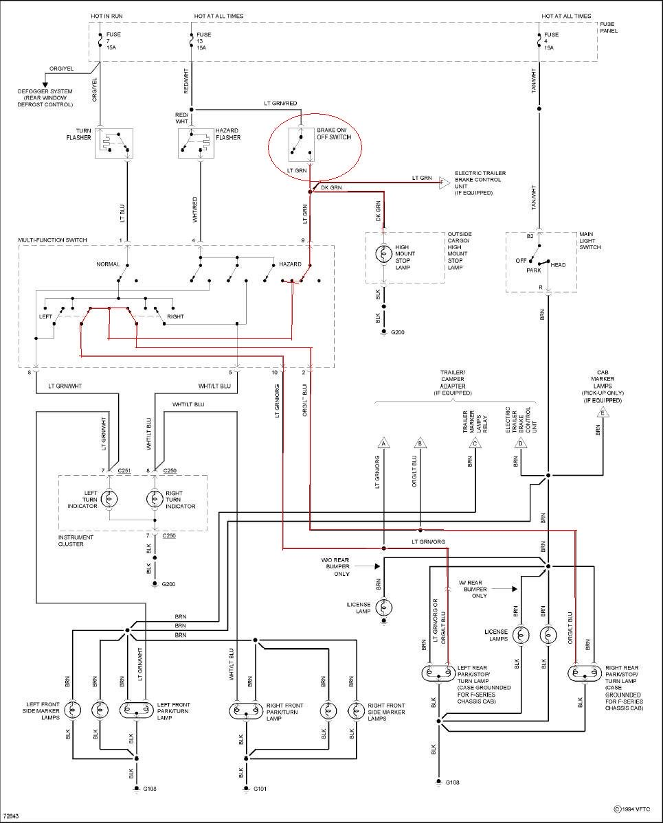 1994 F700 Wiring Diagram Free Picture Schematic