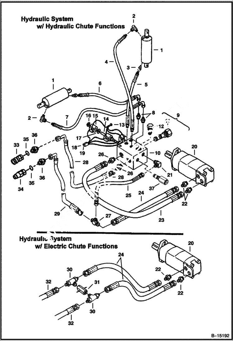 [VK_6822] Bobcat Control Valve Diagram Wiring Diagram