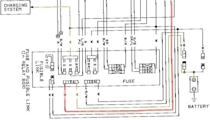 ca18det wiring diagram  golf cart light kit wiring diagram