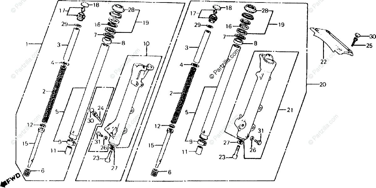 [EF_0833] 1983 Honda Shadow Parts Wiring Diagram