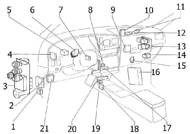 [WR_7919] 1994 Toyota 4Runner Engine Diagram Download Diagram