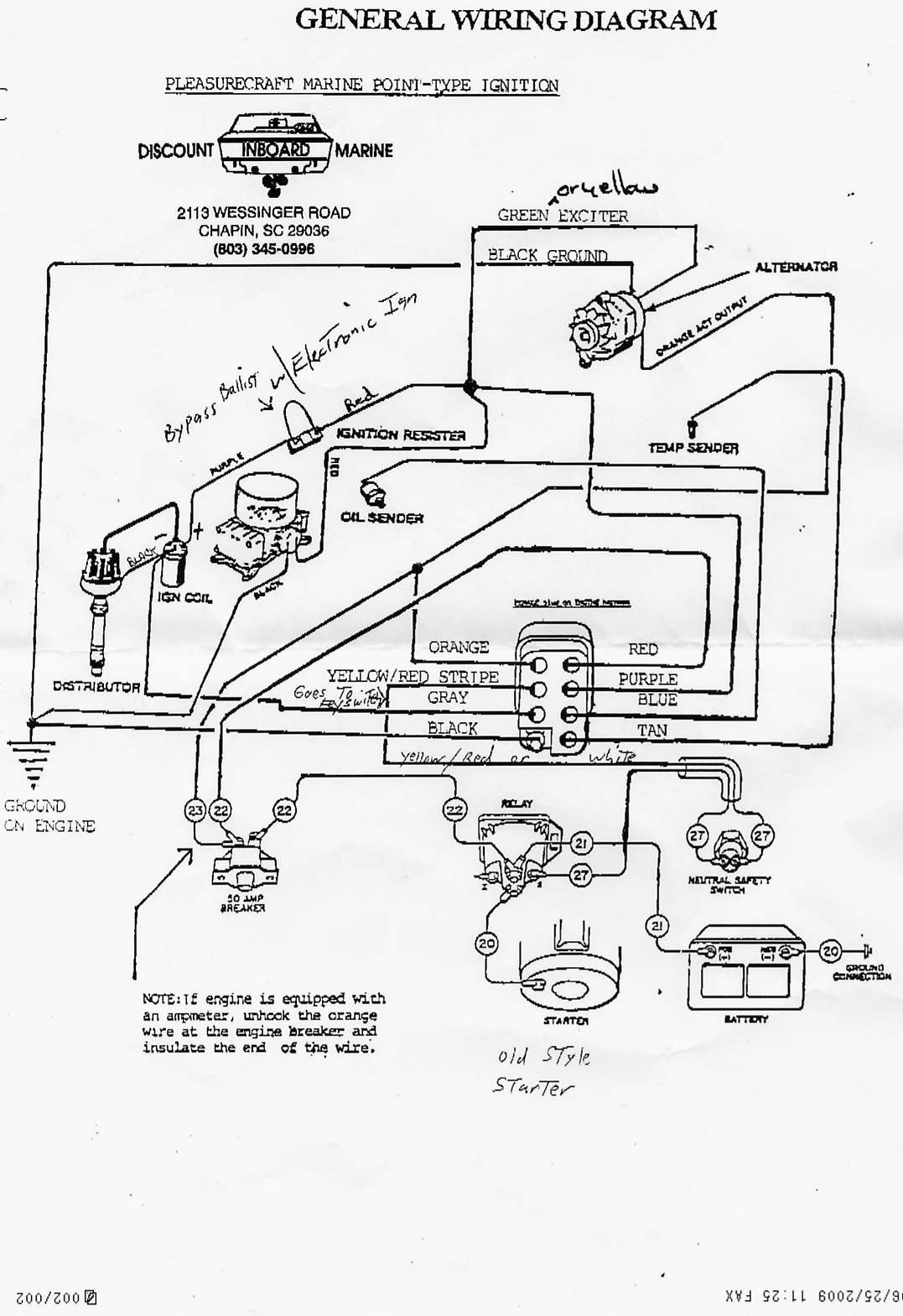 [ZV_7089] Electra Craft Boat Wiring Diagram For Schematic