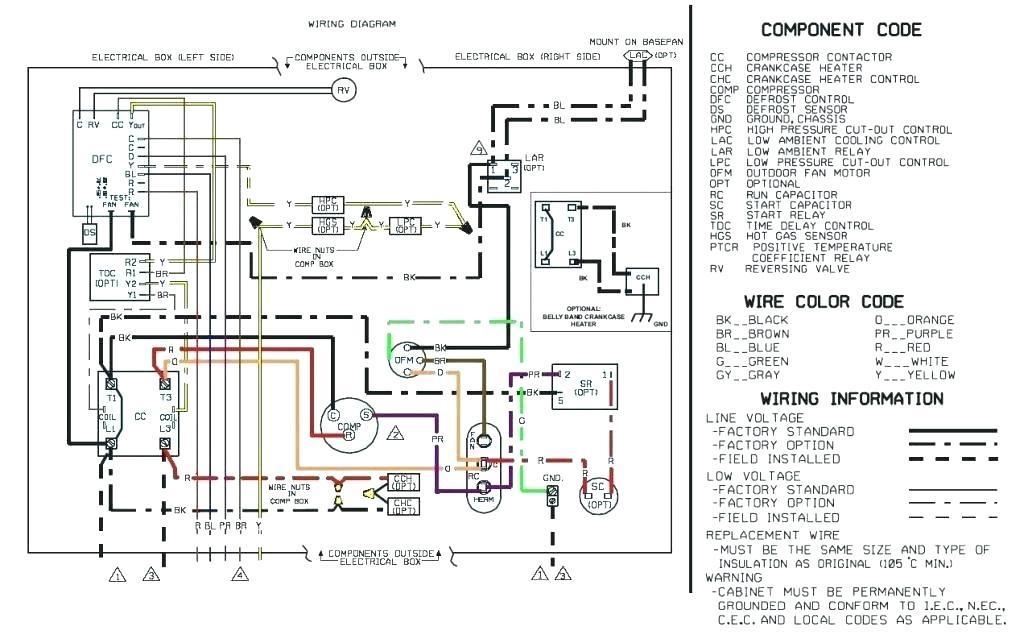 Mars Condenser Fan Motor Wiring Diagram