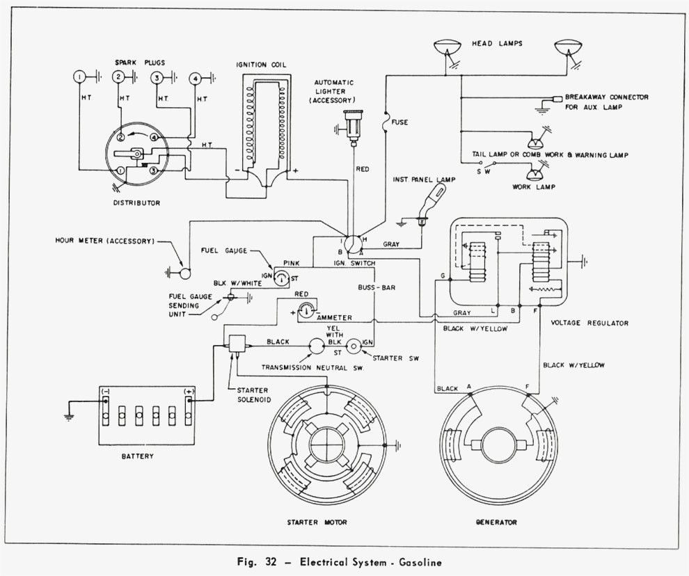 Massey Ferguson 35 Wiring Diagram Pdf / Mf 240 Tractor